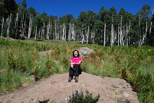 Mai on the Kachina Trail