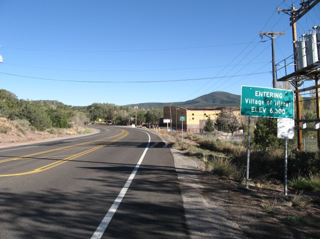 """We thought about living in the """"east mountains"""" but Tijeras Canyon allows bicycles access to this area from Albuquerque, and Tijeras Canyon is a great route to ride in and of itself"""