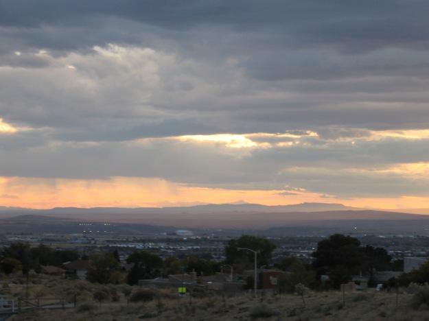 The mesa the Acoma people call home