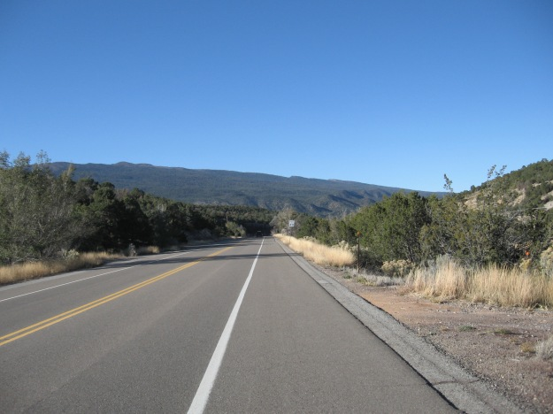 descending back down to Tijeras and on home to Albuquerque