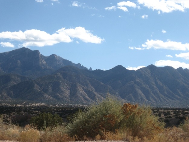 The Sandia's look so rugged from Placitas.  I would live here but Mai says we don't have a million dollars