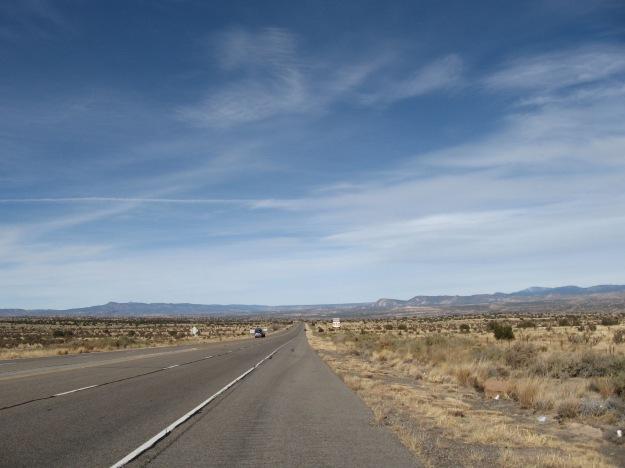 Hwy 550 goes from Albuquerque to Durango and then Silverton, Ouray, Montrose Colorado