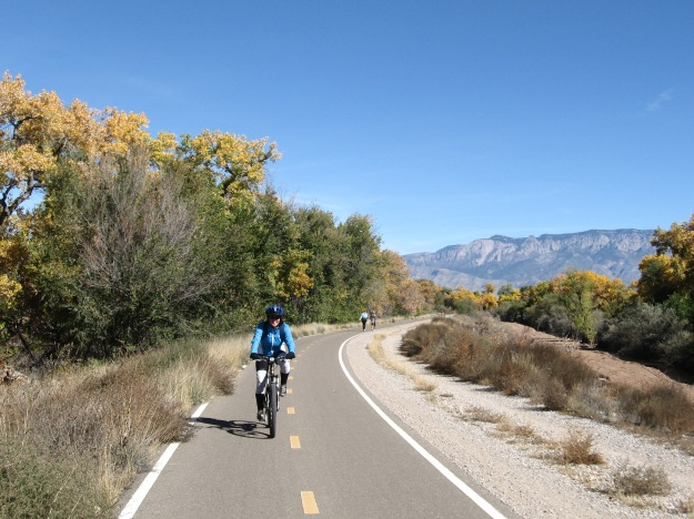 cruising the Bosque Trail