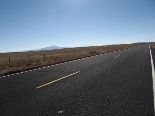 The Sierra Ladrones are a compact range near Socorro
