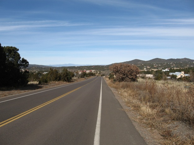Vallecito Dr. w/ views of the Jemez Mtns far away