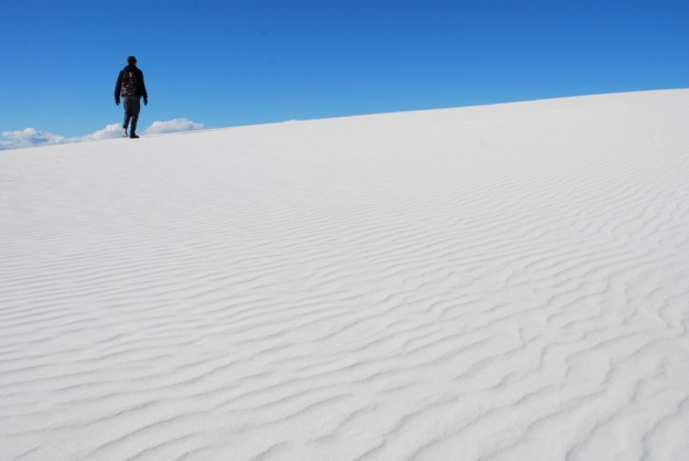 White Sands Chirstmas On Dune 2014