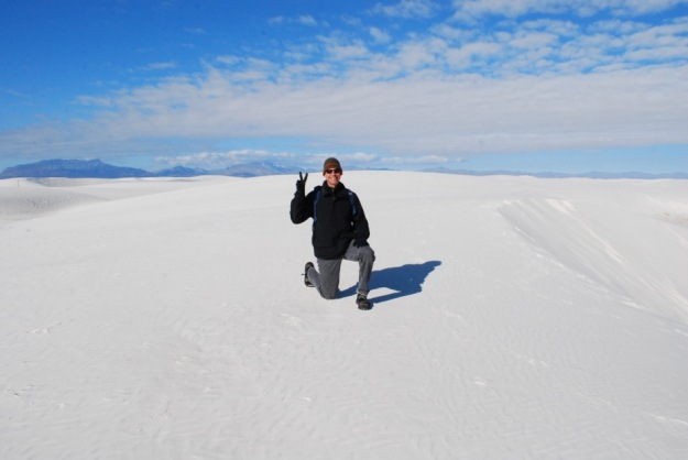 White Sands Christmas Kneeling 2014