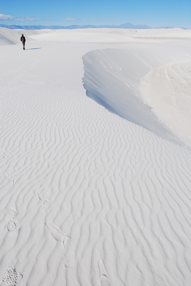White Sands Christmas Walking 2014