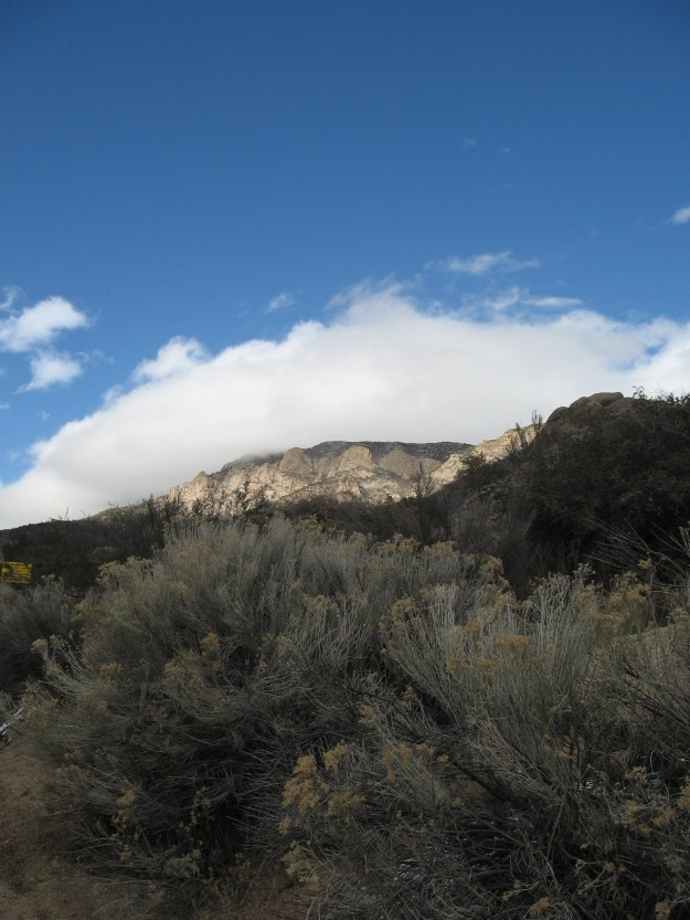 South Sandias above Monticello