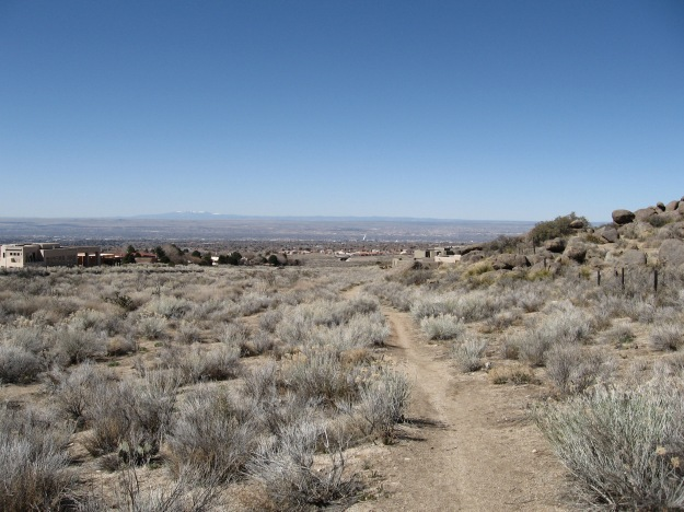 this trail was the gateway for riding my road bike on singletrack. It connects between the Montgomery neighborhood and High Desert where there are no paved roads, allowing for north south transit without going down to Tramway Road