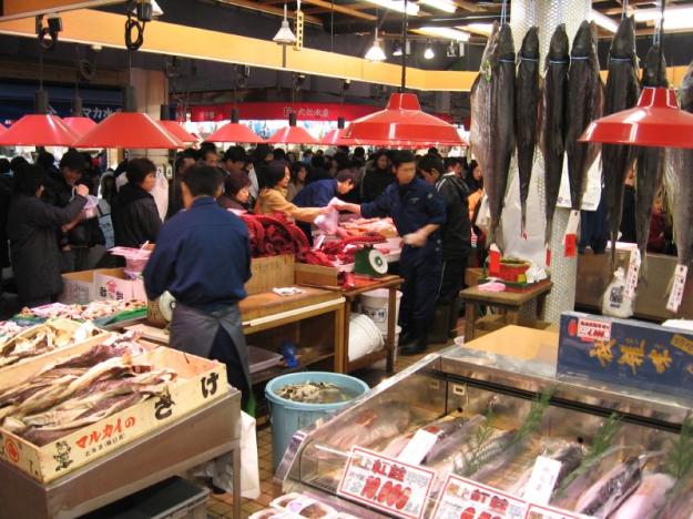 Kanazawa morning market