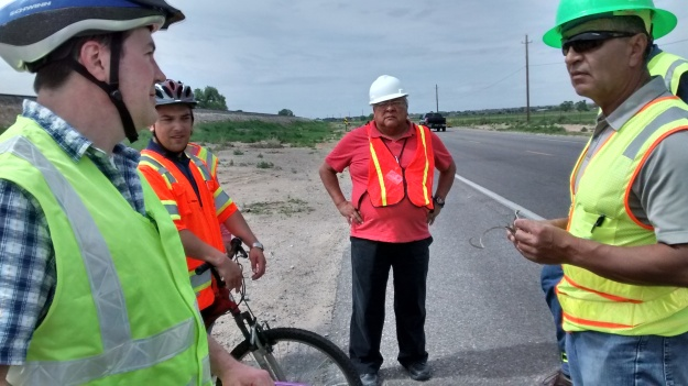 313 on site bike ped assessment team