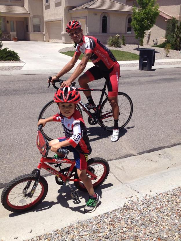 Luis Amaran, one of the most accomplished pros in the US Peloton, lives in ABQ