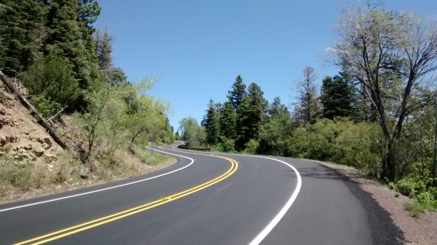 Crest Road sinuos