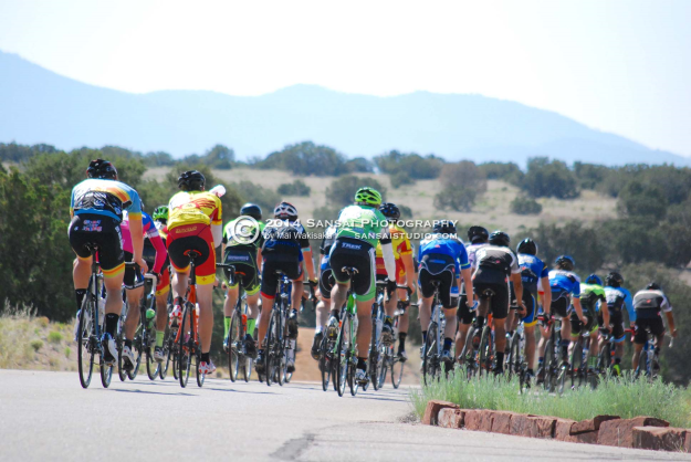 Las Campanas Peloton Going By