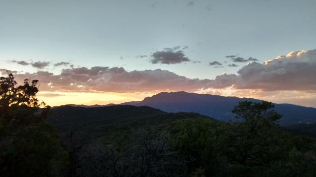 sublime Sandia Sunset