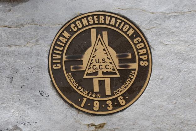 CCC work plaque
