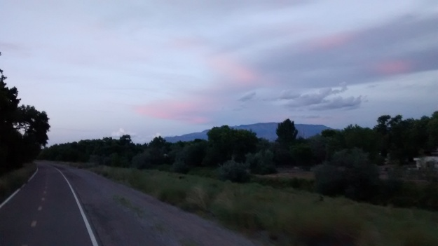 2015.8.27 sunset from Bosque Trail