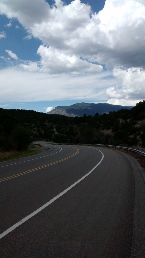 "NM 337 or ""South 14"" is like a ladder connecting the Tijeras Canyon corridor up to the high pines"