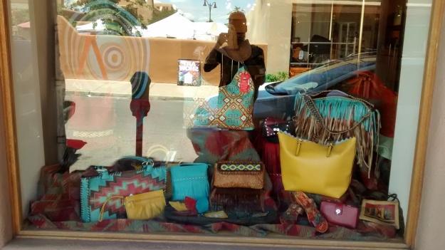 Santa Fe window display