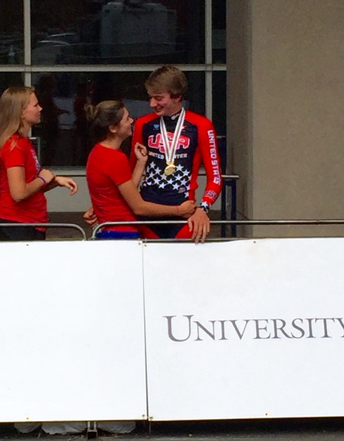 Brandon McNulty wins bronze at Road Worlds, Junior Time Trial. Brandon is an alumnus of the Landis/Trek team
