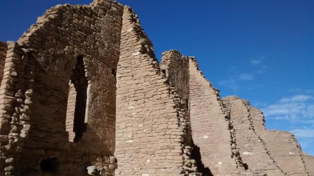 standing walls and doors
