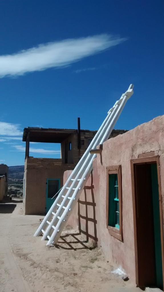 Acoma kiva ladder