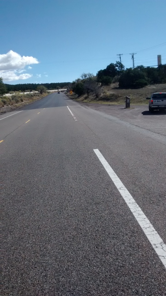 Route 66 new pavement