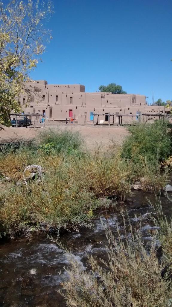 Taos Pueblo by Willow Creek