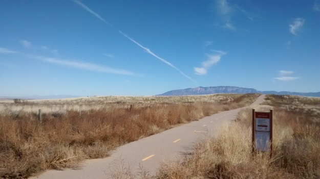 I try to keep riding this trail to ward off the desert from reclaiming it, but the desert keeps making progress. Help!