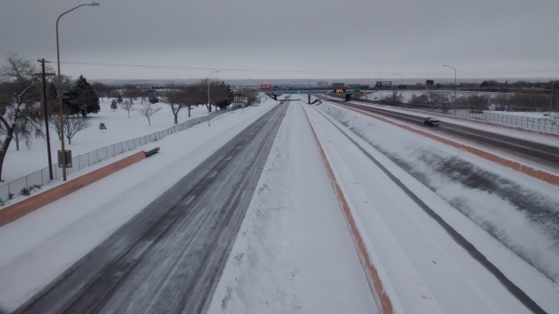 ABQ I-40 closing off and on
