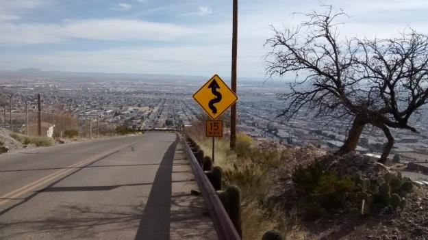 El Paso descending Wyler
