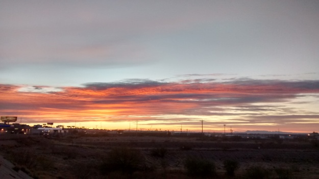 El Paso desert morning