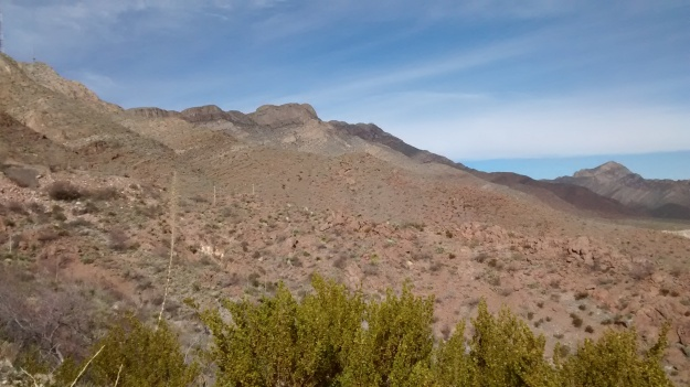El Paso in the Mountains