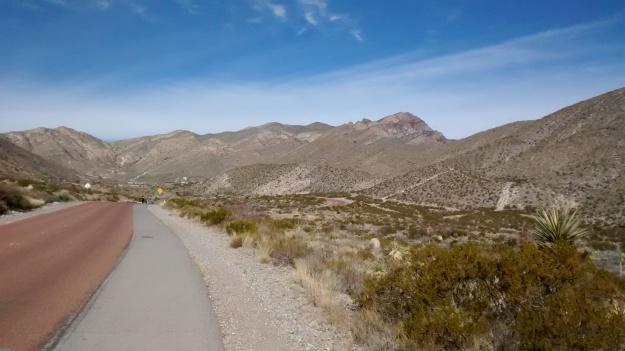 El Paso McKelligon uphill