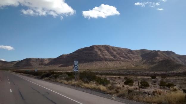El Paso open road