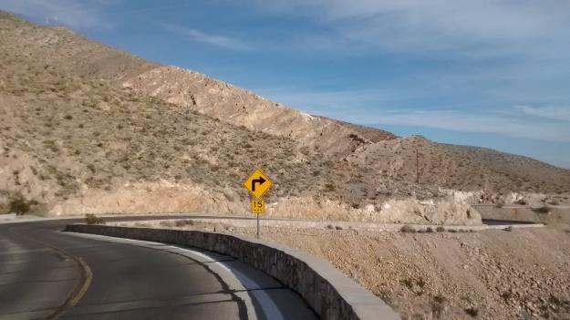 El Paso Scenic Drive twist