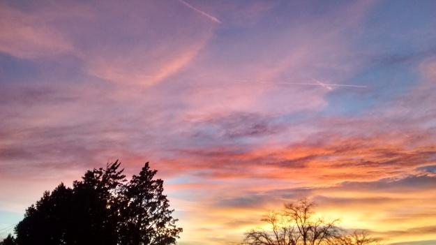 Grant Park sunset goodnight