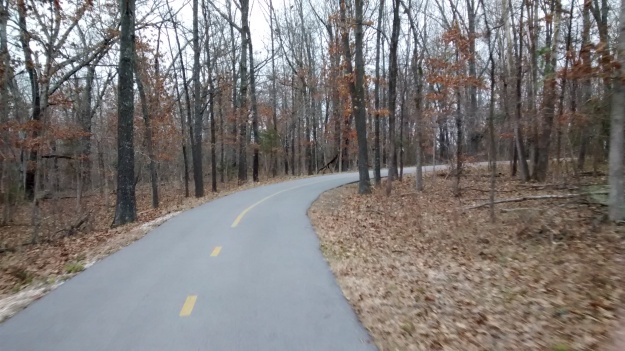 ARK zoom Fayetteville Lake trail