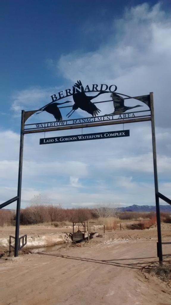 Bernardo entrance sign