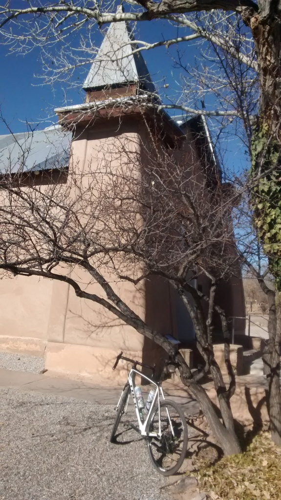 corrales church and bike