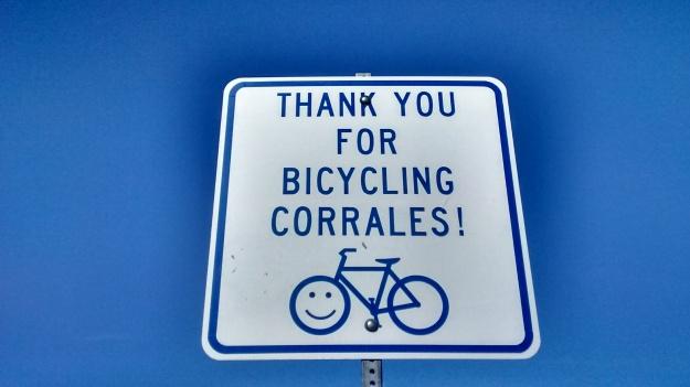Corrales Thanks You