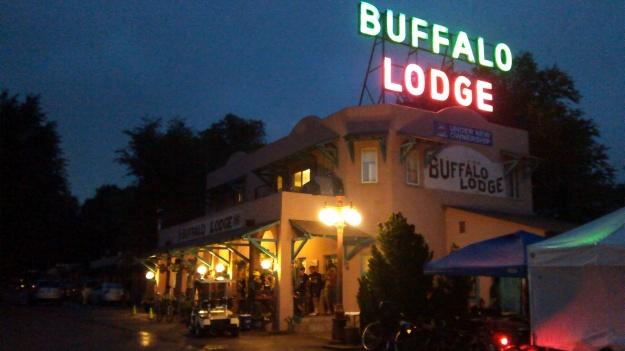 Buffalo Lodge neon