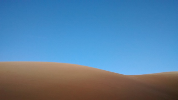sand dunes at first light