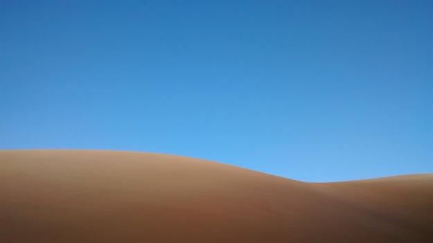 sand dunes at first light