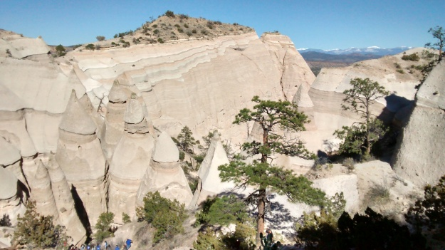 tent-rocks-overview-with-cochiti-kids-climbing